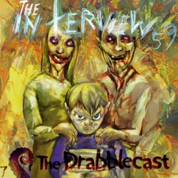 Cover for Drabblecast episode 59, The Interview, by Bo Kaier