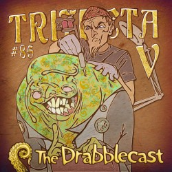 Cover for Drabblecast episode 85, Trifecta V, by Bo Kaier