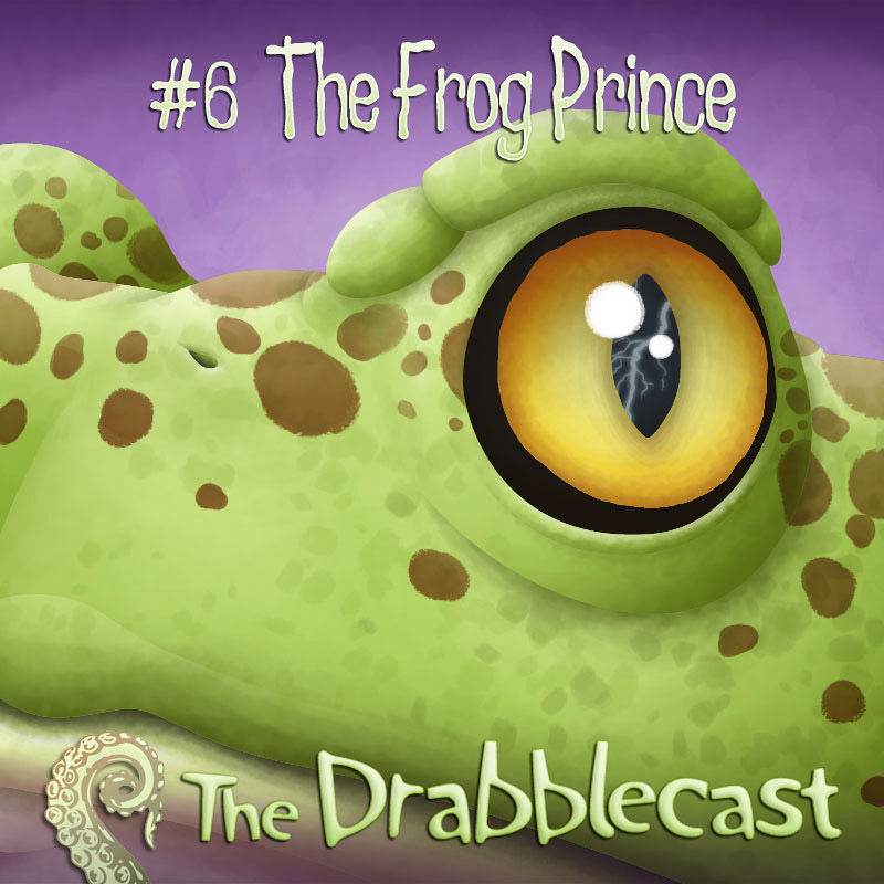 Cover for Drabblecast episode 6, The Frog Prince, by Matt Schindler