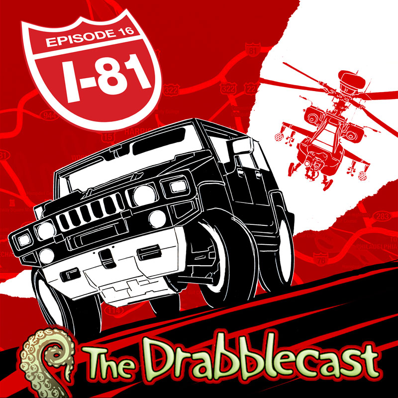 Cover for Drabblecast episode 16, I-81, by John Deberge