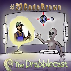Cover for Drabblecast episode 29, Code Brown, by Jonathan Wilson