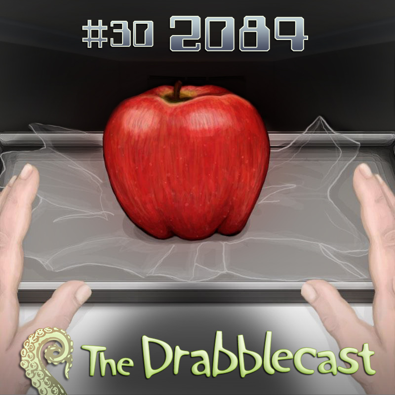 Cover for Drabblecast episode 30, 2084, by Mary Mattice