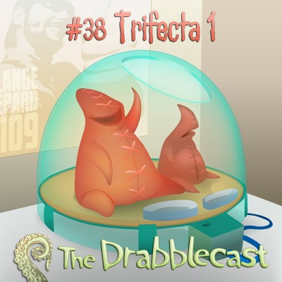 Cover for Drabblecast episode 38, Trifecta 1, by Bo Kaier