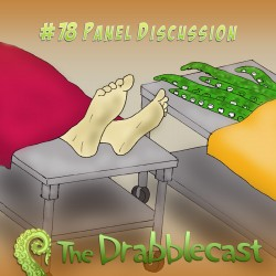 Cover for Drabblecast episode 78, Panel Discussion, by Jonathan Wilson