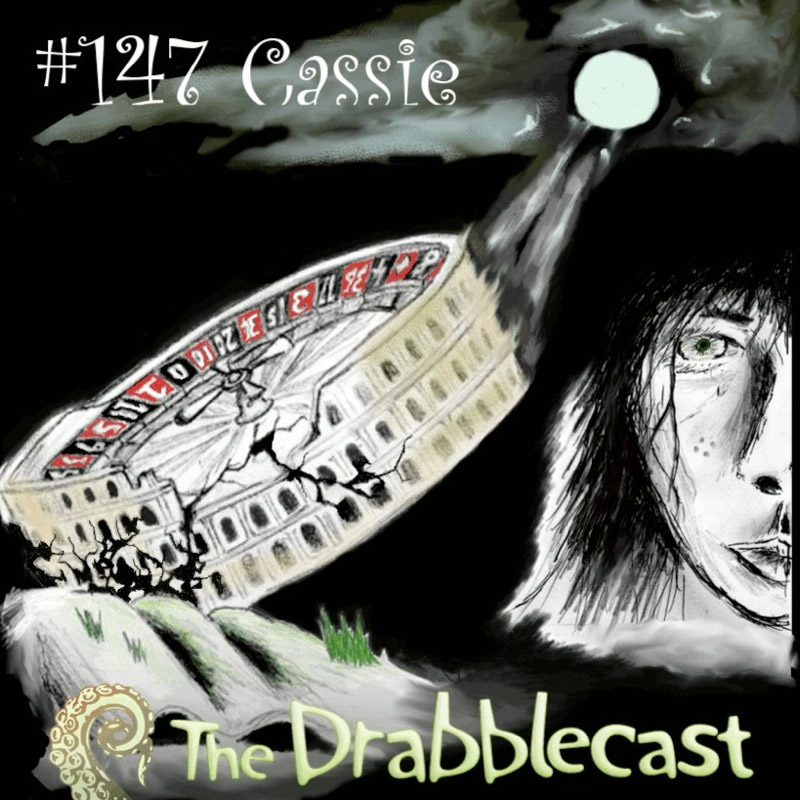 Cover for Drabblecast episode 147, Cassie, by Phil Pomphrey