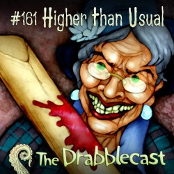 Cover for Drabblecast episode 161, Higher Than Usual, by Bo Kaier