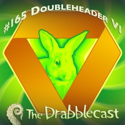 Cover for Drabblecast episode 165, Doubleheader 6, by Rodolfo Arredondo