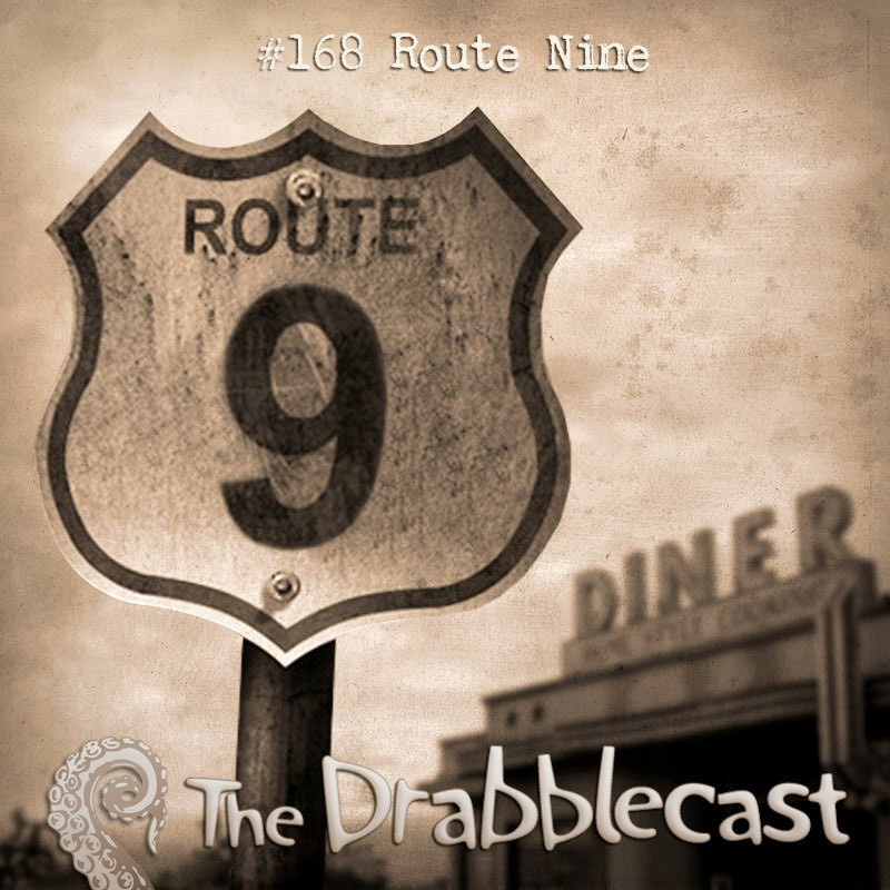 Cover for Drabblecast episode 168, Route Nine, by Broken Cyborg