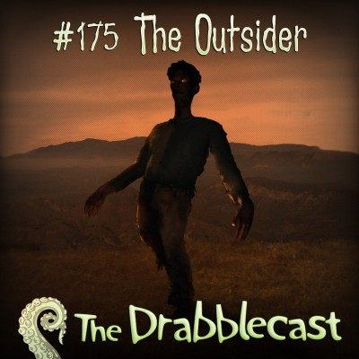 Cover for Drabblecast episode 175, The Outsider, by Bo Kaier