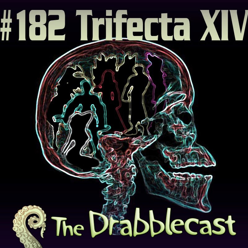 Cover for Drabblecast episode 182, Trifecta XIV, by Jan Dennison