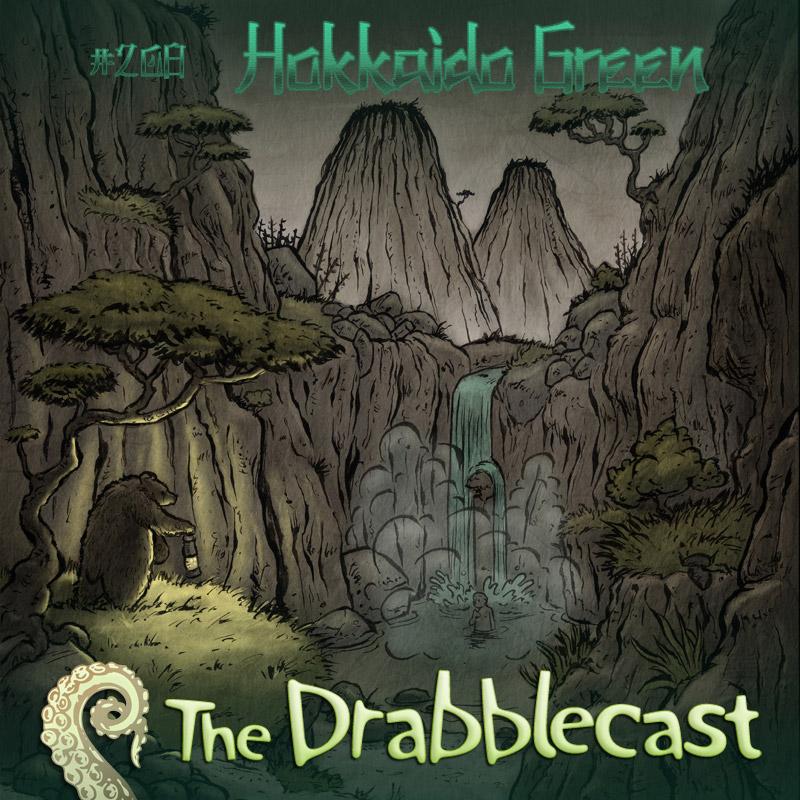 Cover for Drabblecast episode 208, Hokkaido Green, by Jerel Dye