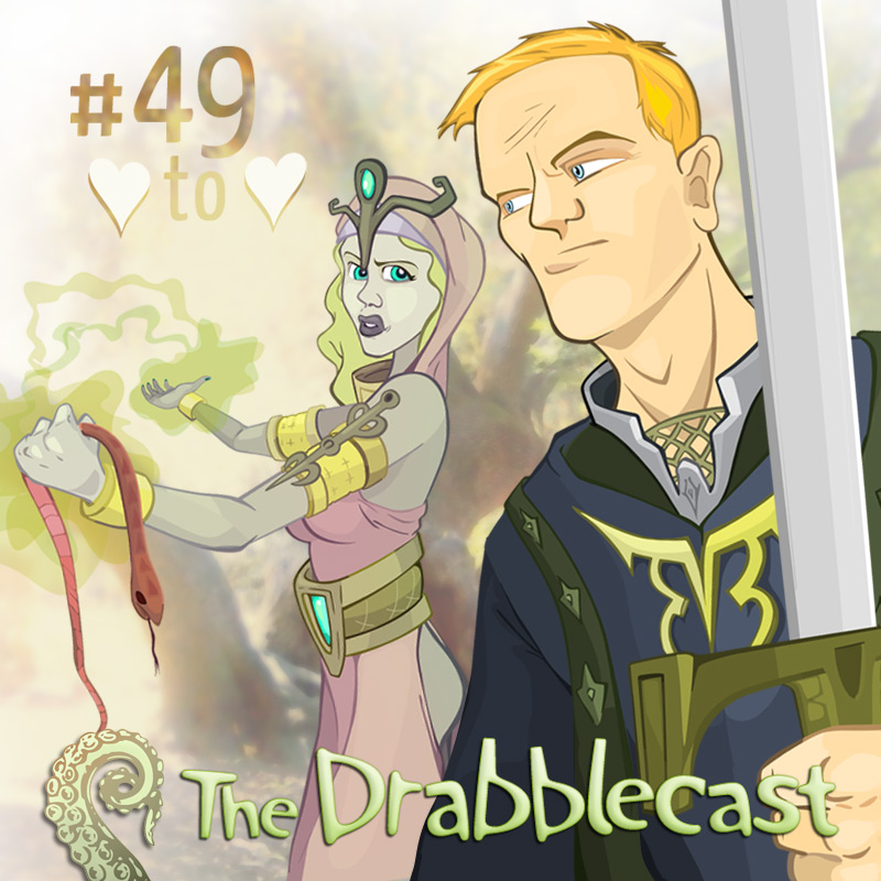 Cover for Drabblecast 49, Heart to Heart, by Bo Kaier