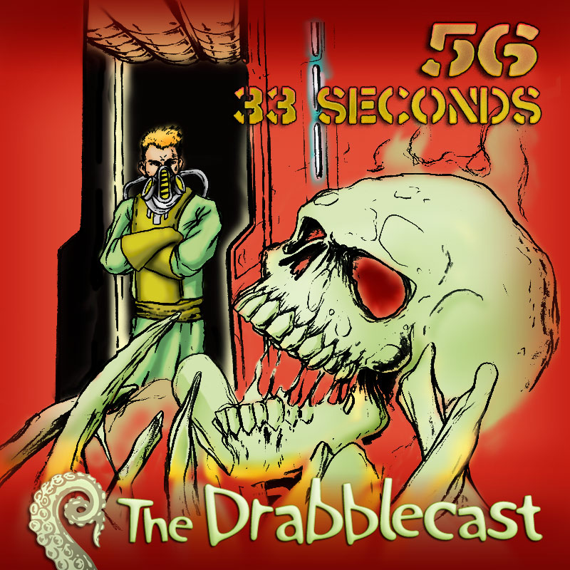 Cover for Drabblecast episode 56, 33 Seconds, by Rick Marron