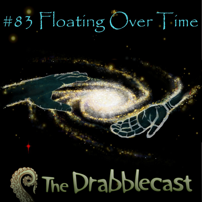 Cover for Drabblecast 83, Floating Over Time, by Philip Pomphrey