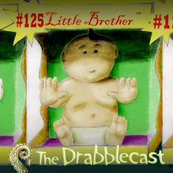 Cover for Drabblecast 125, Little Brother TM, by Philip Pomphrey