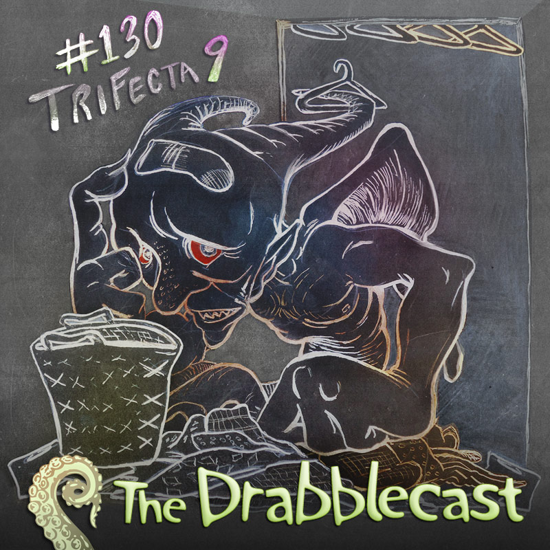 Cover for Drabblecast Episode 130, Trifecta 9, by Bo Kaier