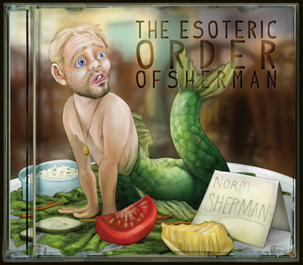 CD cover for the Esoteric Order of Sherman, by Norm Sherman, album art by Bo Kaier