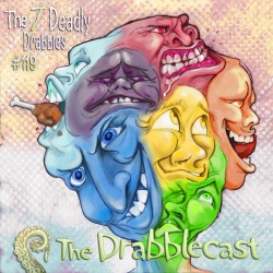 Cover for Drabblecast episode 119, The Seven Deadly Drabbles, by Bo Kaier