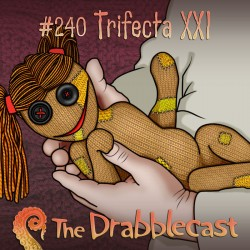 Cover for Drabblecast episode 240, Trifecta XXI, by Gino Moretto