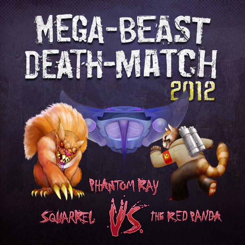 Mega Beast Death Match 2012 round 1 Cover