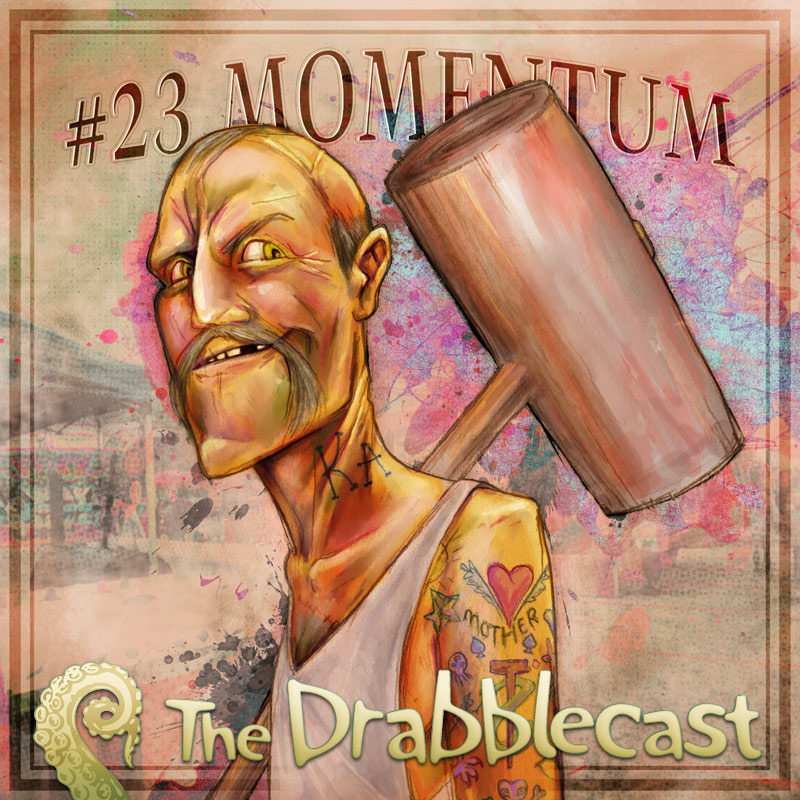 Cover for Drabblecast 23, Momentum, by Bo Kaier