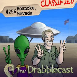 Cover for Drabblecast episode 256, Roanoke, Nevada, by Spencer Bingham