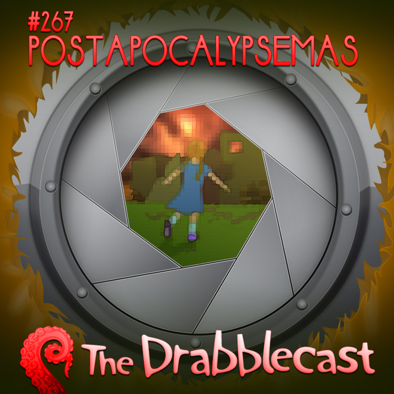 Cover for Drabblecast episode 267, Postapocalypsemas, by Mary Mattice