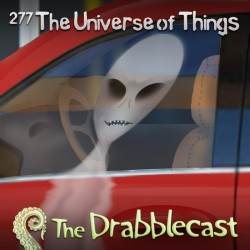 Cover for Drabblecast episode 277, Things, by Liz Pennies