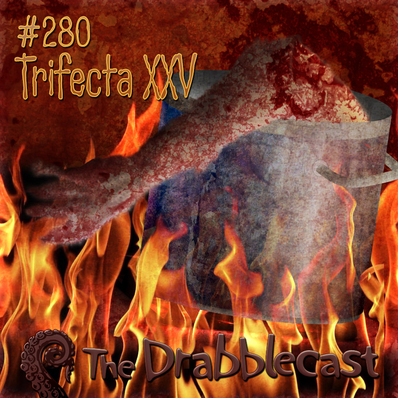 Cover for Drabblecast episode 280, Trifecta XXV, by Matthew Mattice