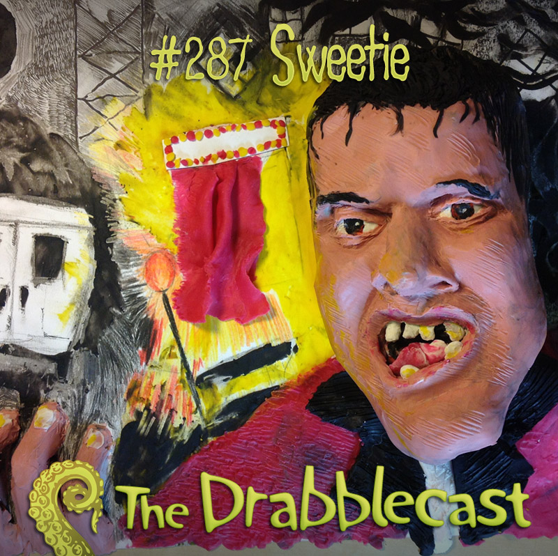 Cover for Drabblecast episode 287, Sweetie, by Raoul Izzard