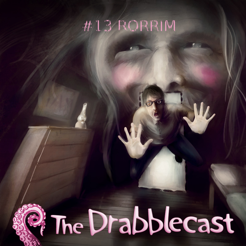 Cover for Drabblecast episode 13, RORRIM, by Oskar Kunik