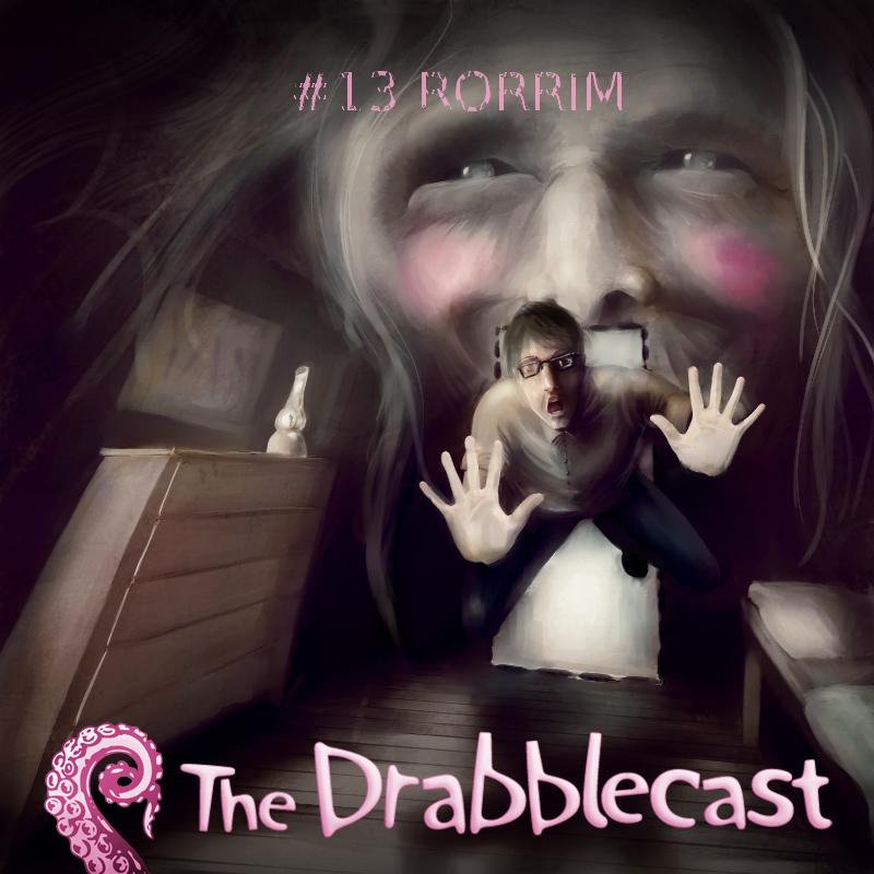 Cover for Drabblecast episode 13, RORRIM, by Oskar Kunik