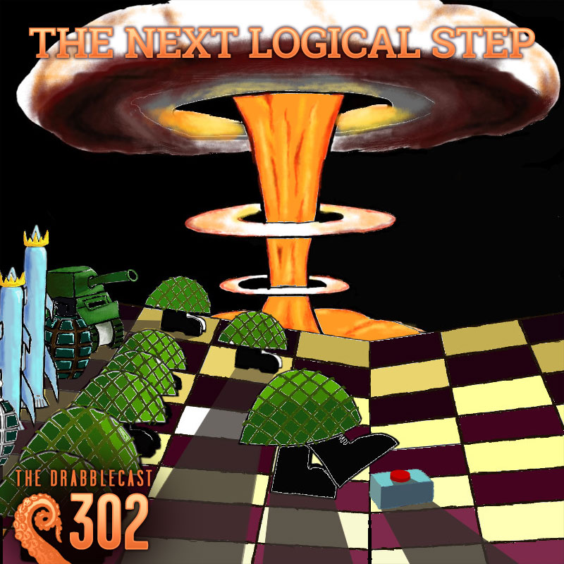 Cover for Drabblecast episode 302, The Next Logical Step, by Philip Pomphrey