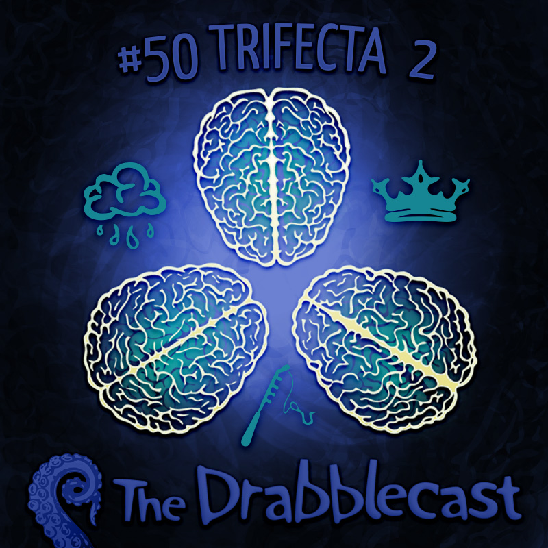 Cover for Drabblecast 50, Trifecta II, by Bo Kaier