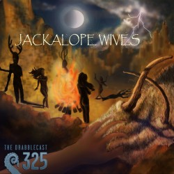 Cover for Drabblecast episode 325, Jackalope Wives, by Liz Pennies