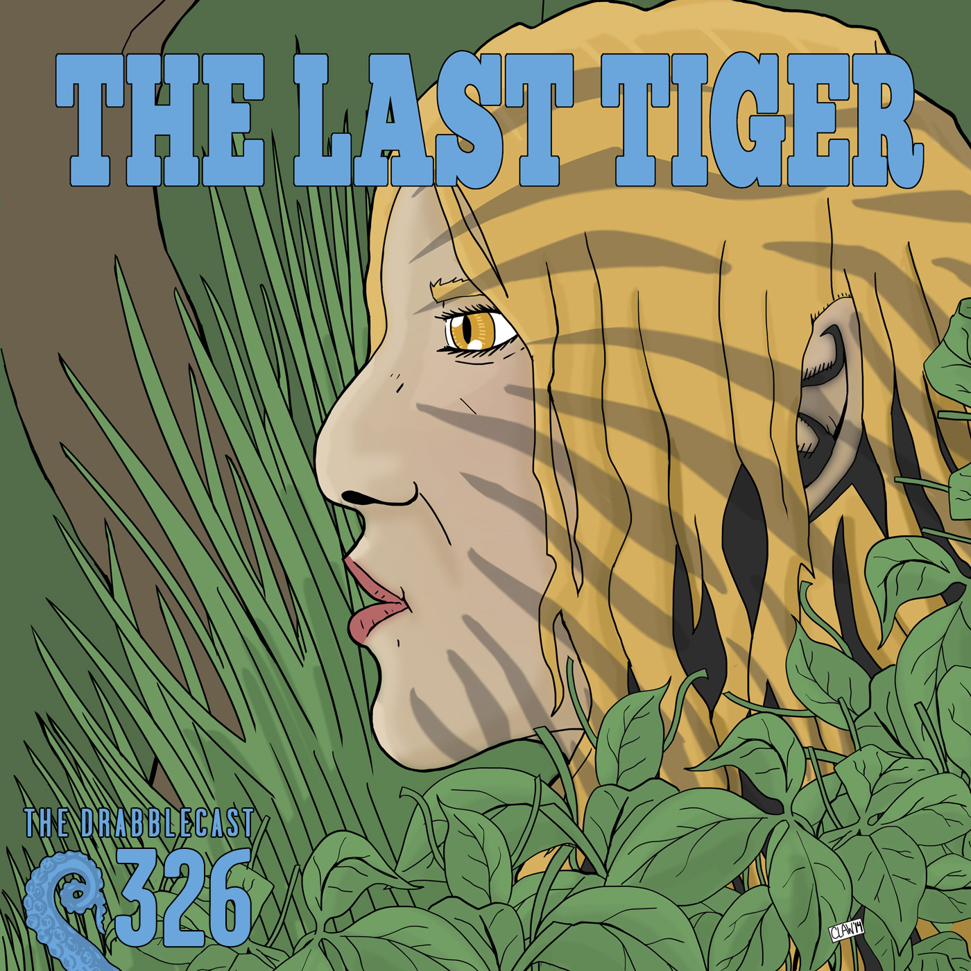 Cover for Drabblecast 326, The Last Tiger, by Alex Claw