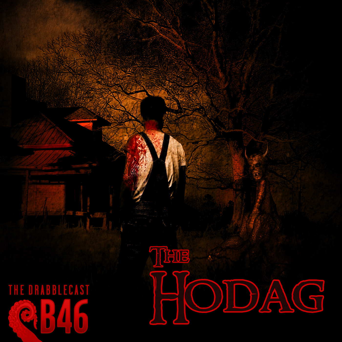 Cover for Drabblecast B-sides 46, The Hodag, by Richard K. Green