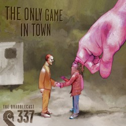 Cover for Drabblecast episode 337, The Only Game in Town, by Bo Kaier