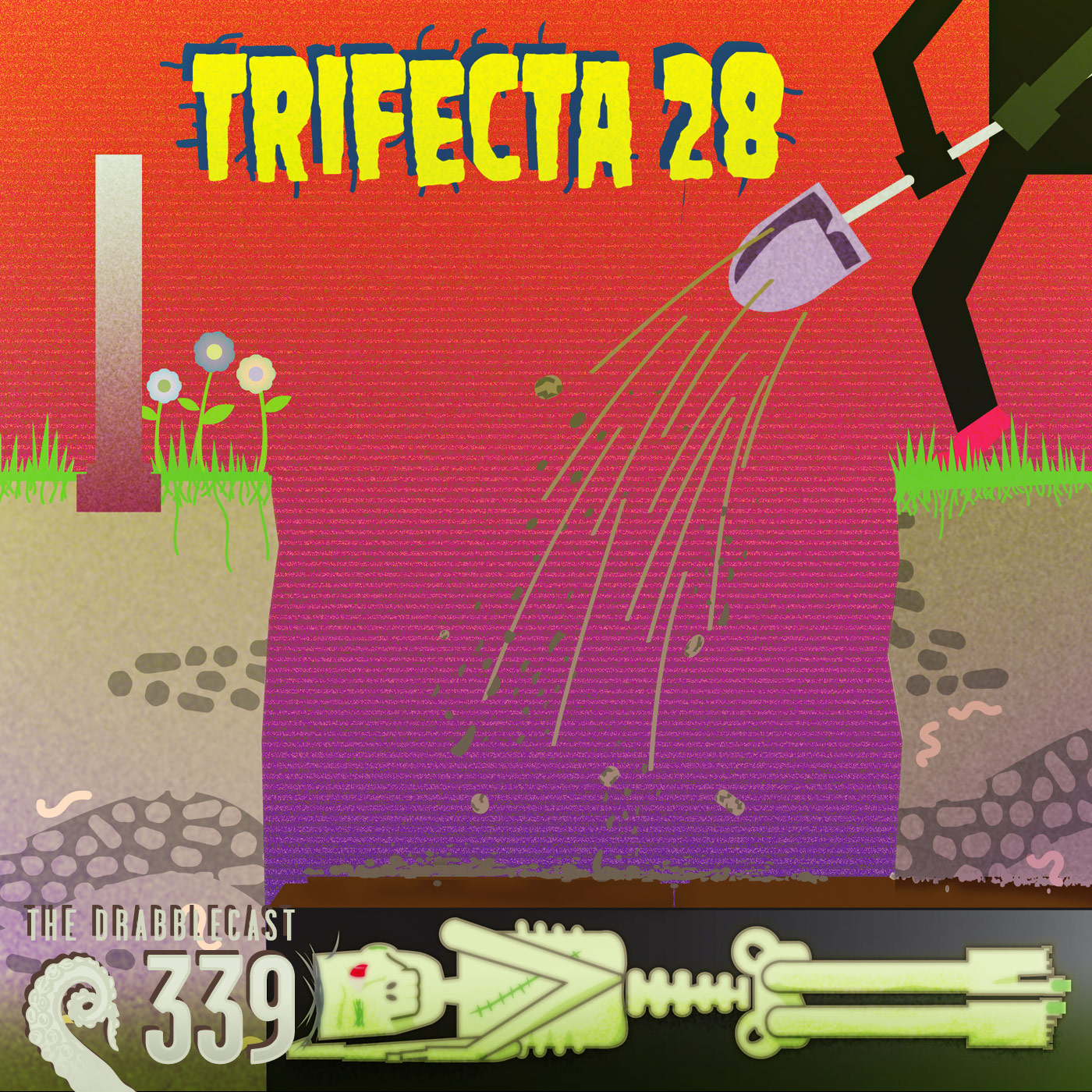 Cover for Drabblecast episode 339, Trifecta 28, by Brent Holmes