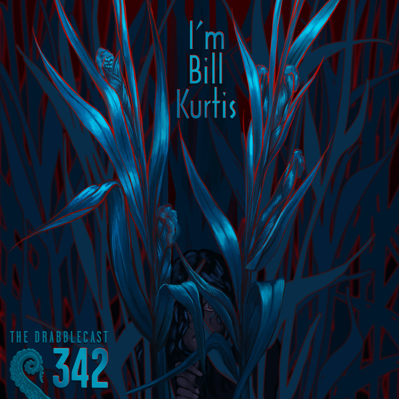 Cover for Drabblecast episode 342, I'm Bill Kurtis, by E. C. Ibes