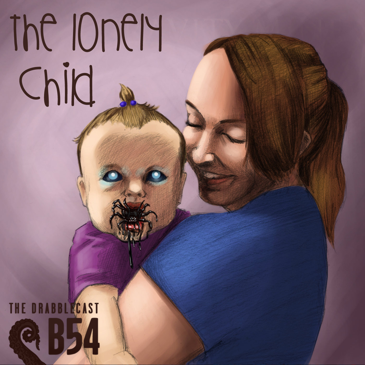 Cover for Drabblecast B-Sides 54, The Lonely Child, by Melissa McClanahan