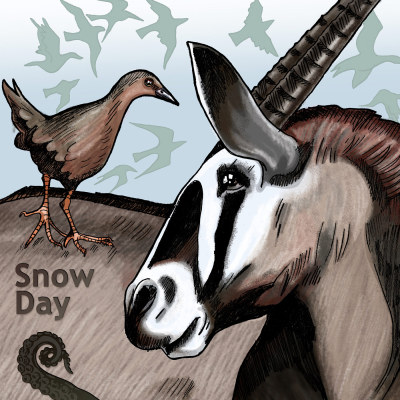 Drabblecast Cover for Snow Day by Caroline Parkinson