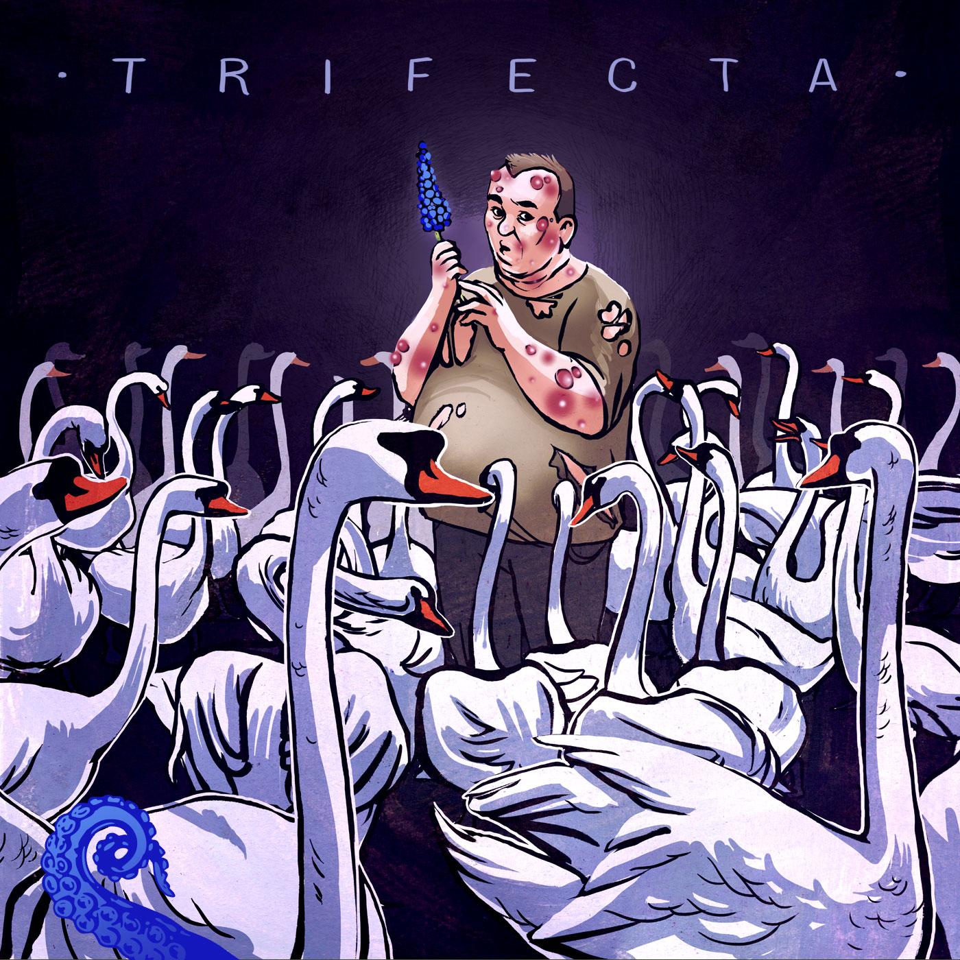 Cover for Drabblecast Trifecta by Unka Odya