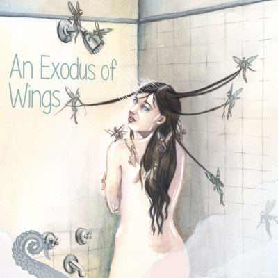 Cover for Drabblecast episode An Exodus of Wings, by Melissa McClanahan