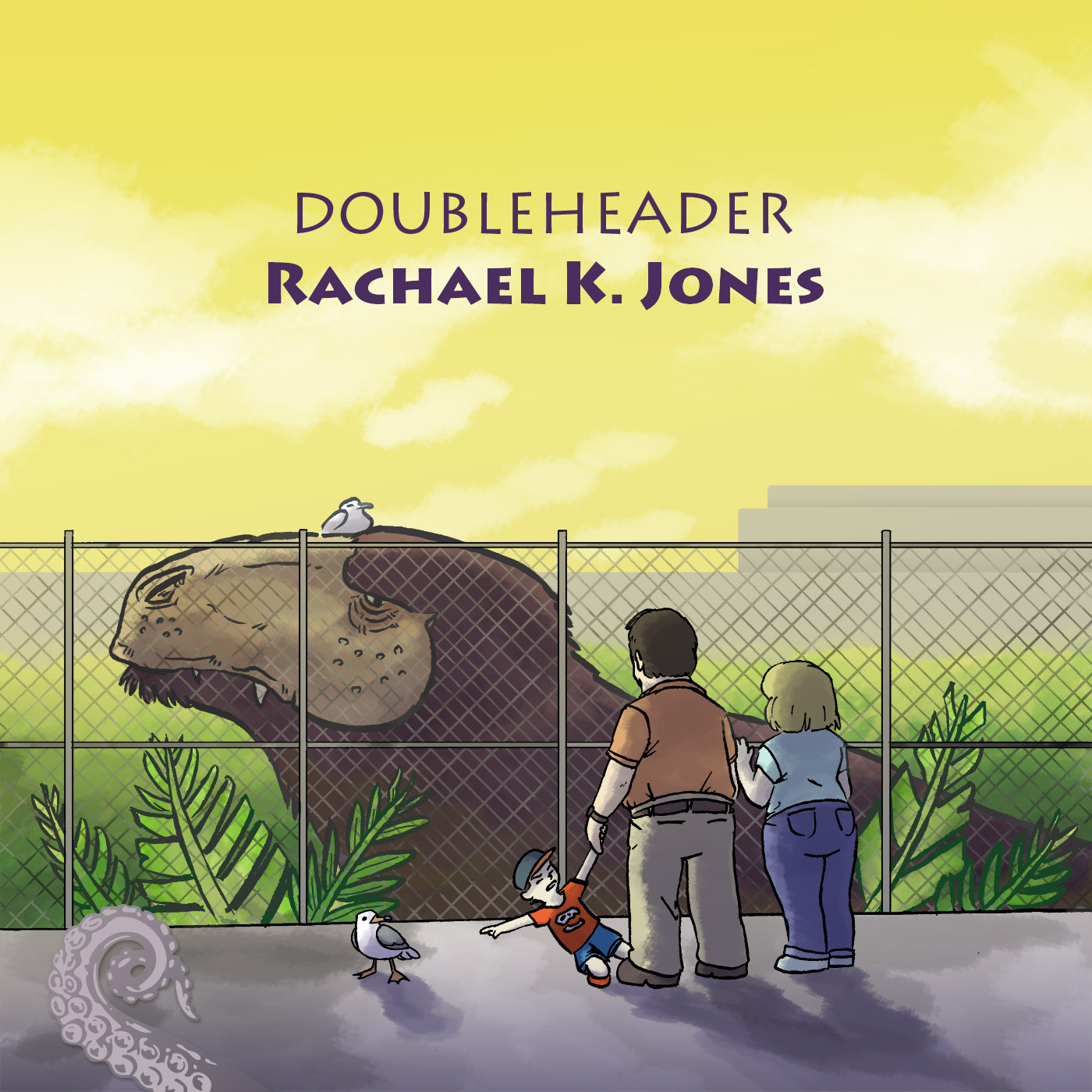 Cover for Drabblecast episode Rachael K Jones Doubleheader by Spencer Bingham