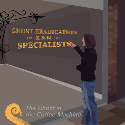 Drabblecast Ghost in the Coffee Machine Kristine Herman