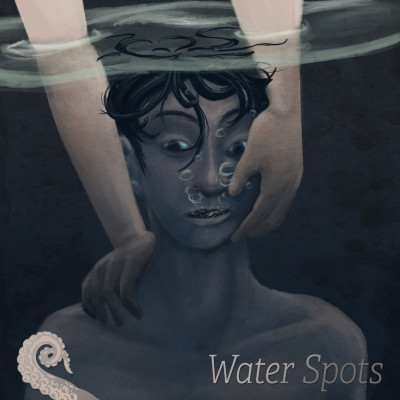 Drabblecast cover art for Water Spots, art by Lissa Quon