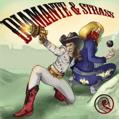 Drabblecast Cover by Melissa McClanahan for Diamante and Strass