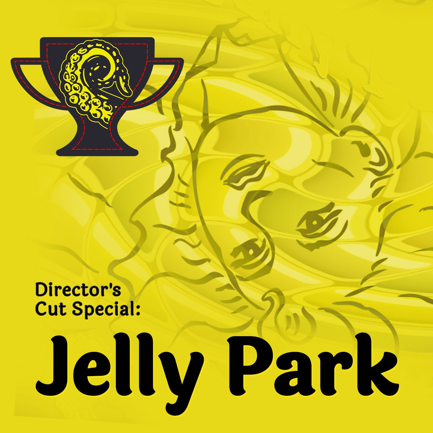 Cover for Drabblecast Director's Cut of Aliya Whitely's Jelly Park by Rodolfo Arredondo