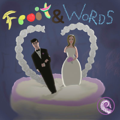Cover for Fruit and Words Trifecta by Mary Mattice